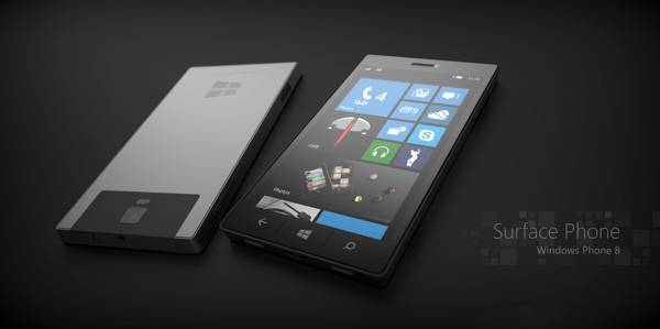 Microsoft Windows Surface Phone Concept by Phone Designer