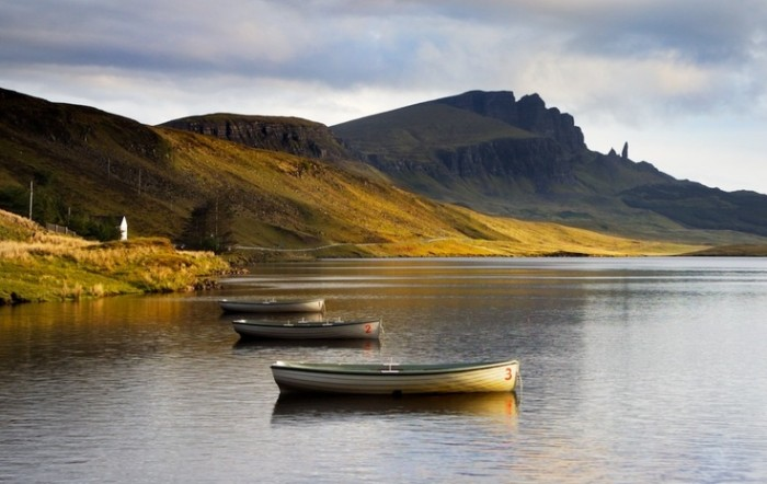 The Old Man of Storr on the Isle of Skye in Scotland